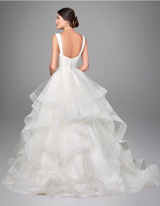 Elise  ballgwon wedding dress back Anna Sorrano