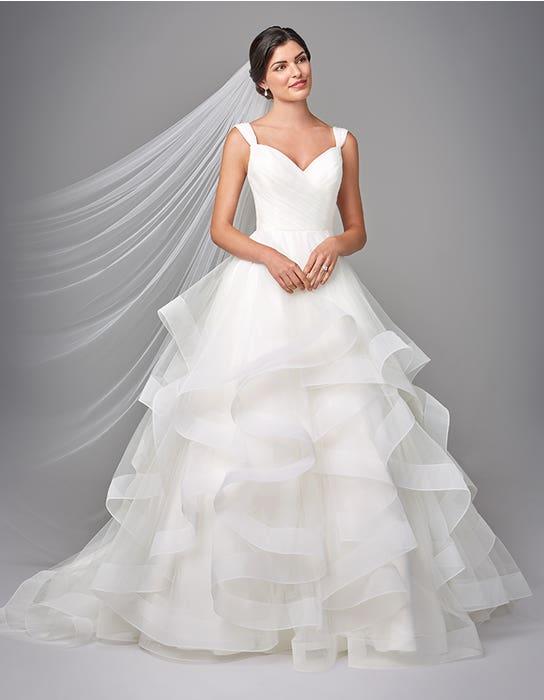Elise  ballgwon wedding dress front Anna Sorrano
