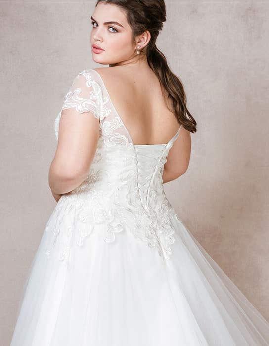ELLEN - een romantische aline jurk | WED2B