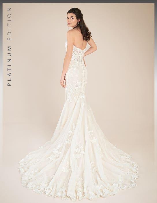 Elliot fishtail wedding dress back Viva Bride