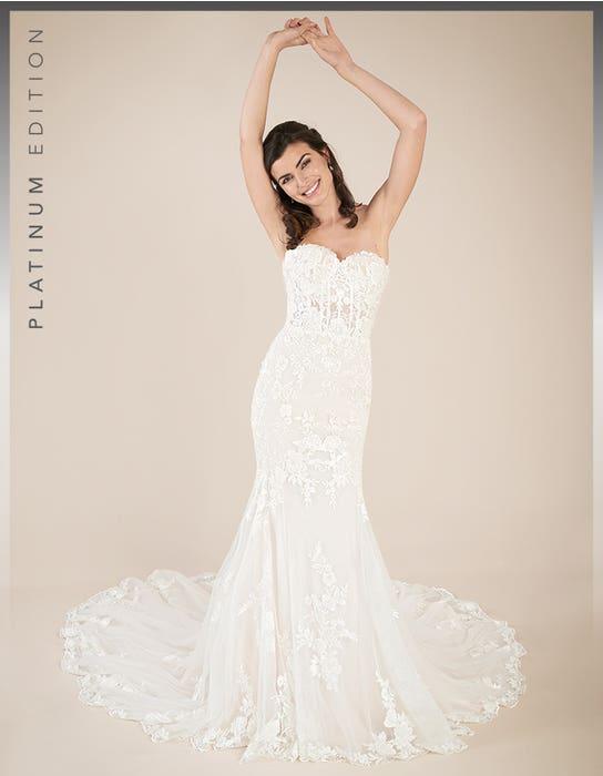 Elliot fishtail wedding dress front Viva Bride