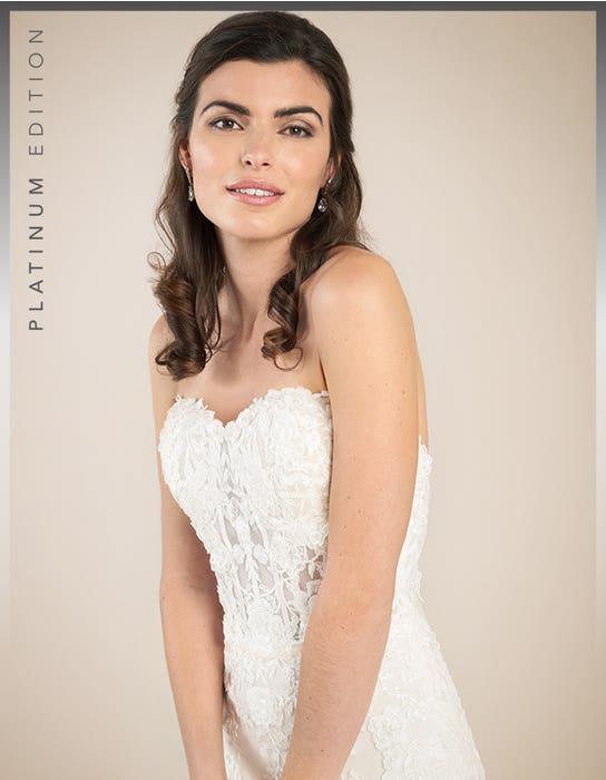 Elliot fishtail wedding dress front crop Viva Bride
