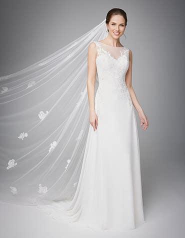 Elsie aline wedding dress front Anna Sorrano th