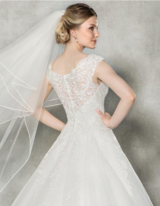 Emilia aline wedding dress back crop Anna Sorrano