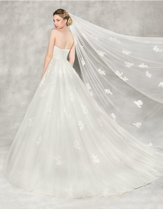 Emmeline ballgown wedding dress back Anna Sorrano