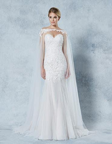EMPRESS -  een koninklijke bruidscape