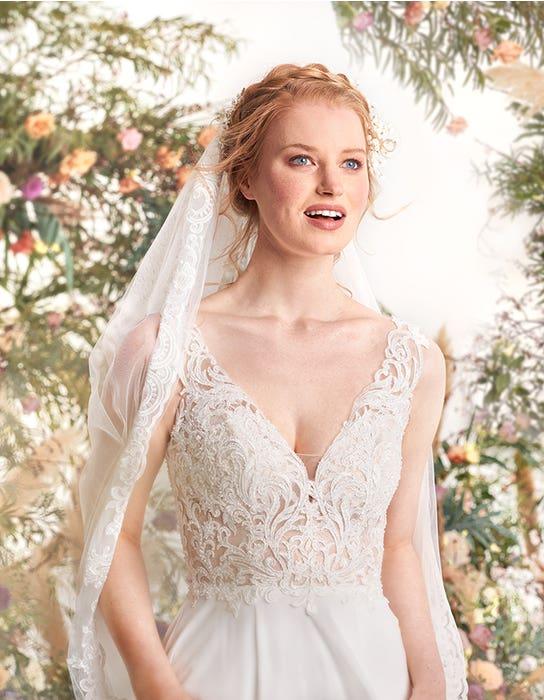Enya aline wedding dress front crop edit Signature