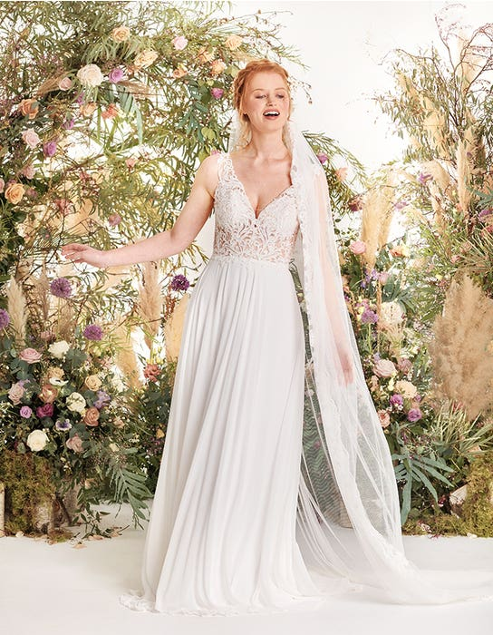 Enya aline wedding dress front edit Signature