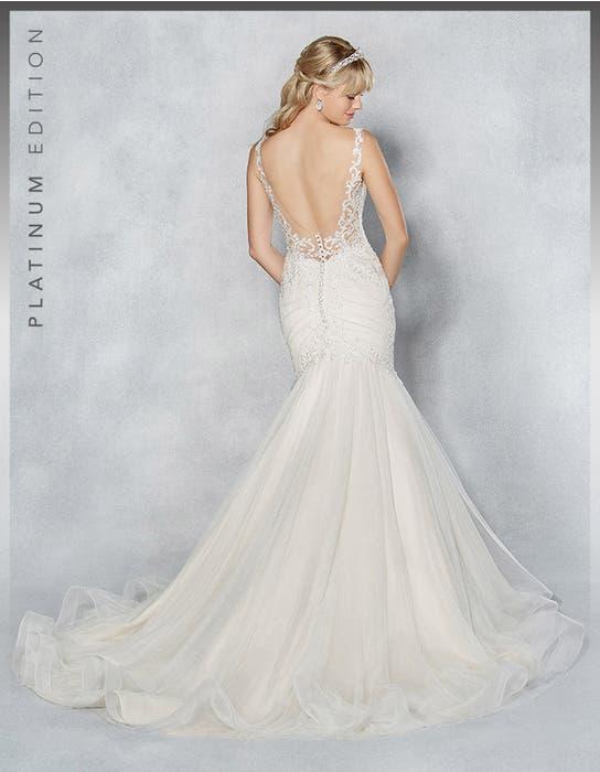Erica fishtail wedding dress back Viva Bride