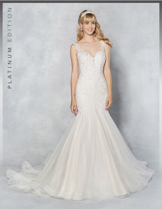 Erica fishtail wedding dress front Viva Bride
