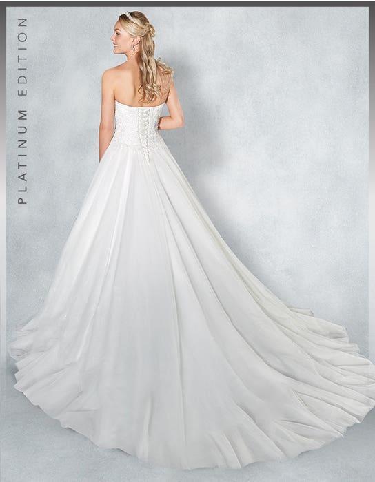 Eternity ballgown wedding dress back Viva Bride 1