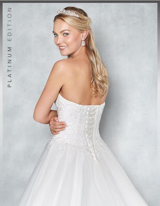 Eternity ballgown wedding dress back crop Viva Bride 1