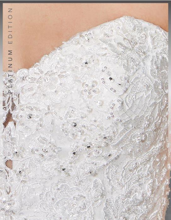 Eternity ballgown wedding dress detail Viva Bride 1