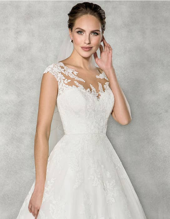 Everly -  een eigentijdse korte trouwjurk | WED2B