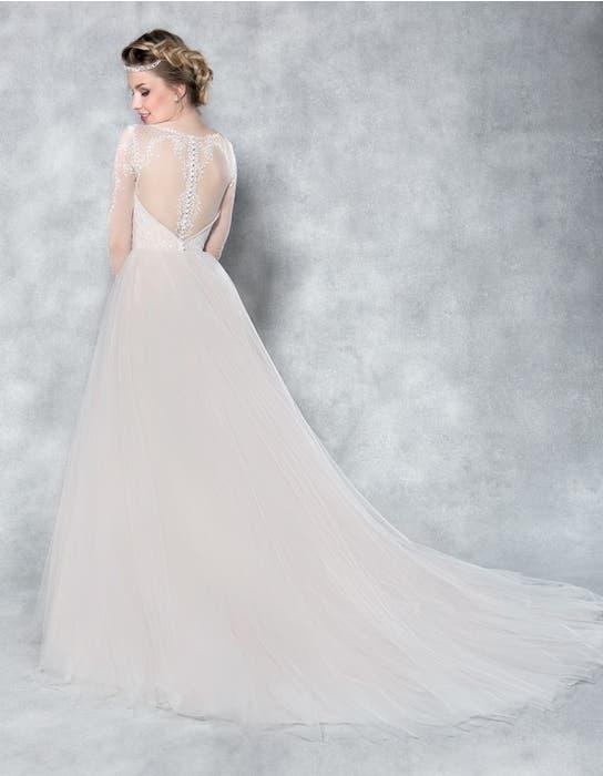 Ferne ballgown wedding dress back Viva Bride