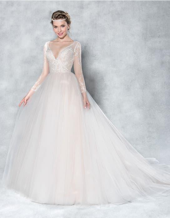 Ferne ballgown wedding dress front Viva Bride