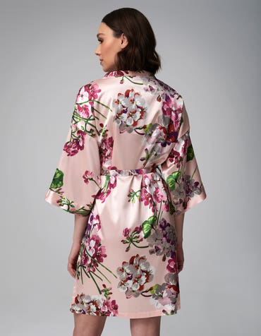 Floral Robe -
