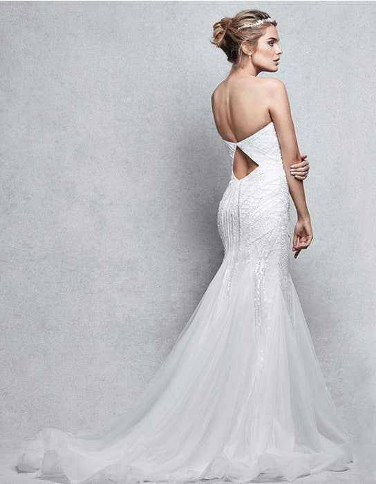 Genesis fishtail wedding dress back Signature