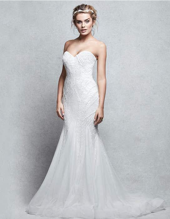 Genesis fishtail wedding dress front Signature