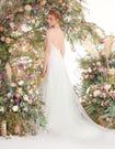 Ginger fishtail wedding dress back edit Viva Bride