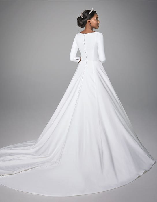 Grace Aline wedding dress back Anna Sorrano