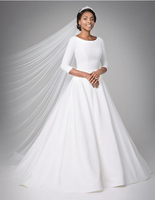 Grace Aline wedding dress front Anna Sorrano