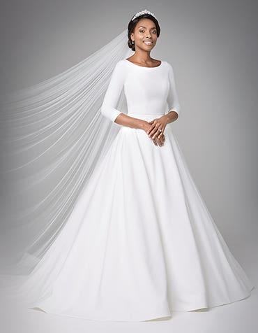 Grace Aline wedding dress front Anna Sorrano thumbnail