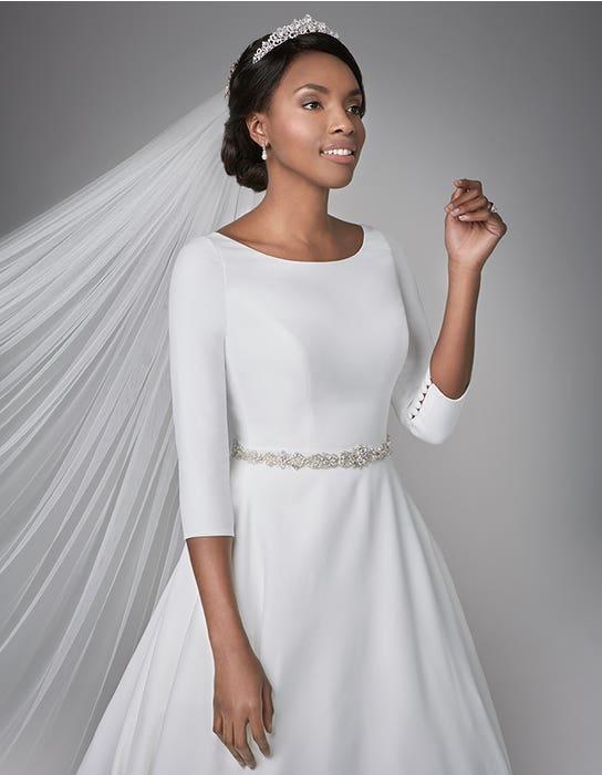 Grace Aline wedding dress front crop2 Anna Sorrano