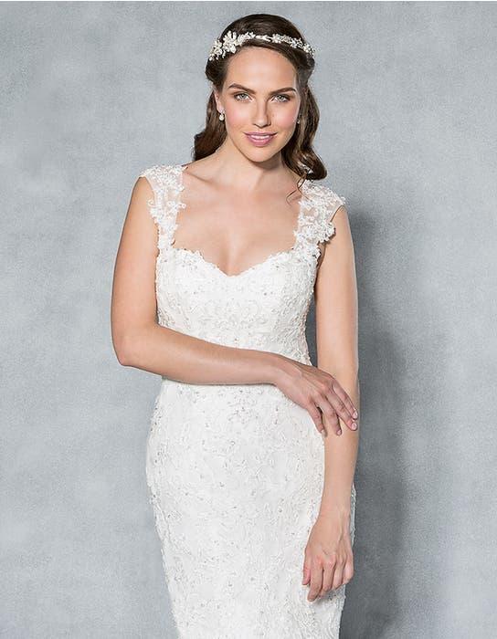 Gracie fishtail wedding dress front crop2 Viva Bride th