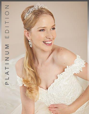 Grady ballgown wedding dress front crop Viva Bride th
