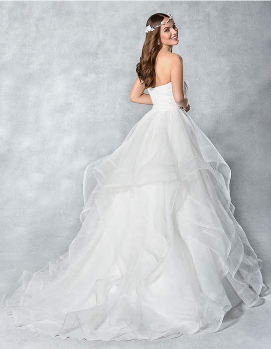 Hadley ballgown wedding dress back Viva Bride