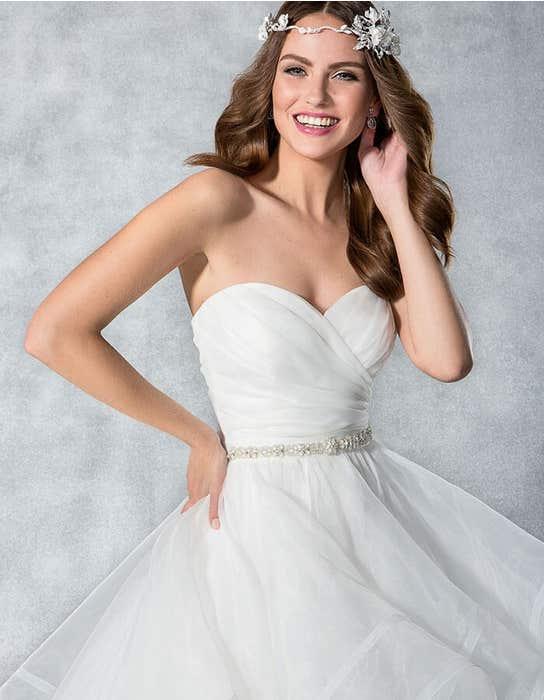 Hadley ballgown wedding dress crop front Viva Bride