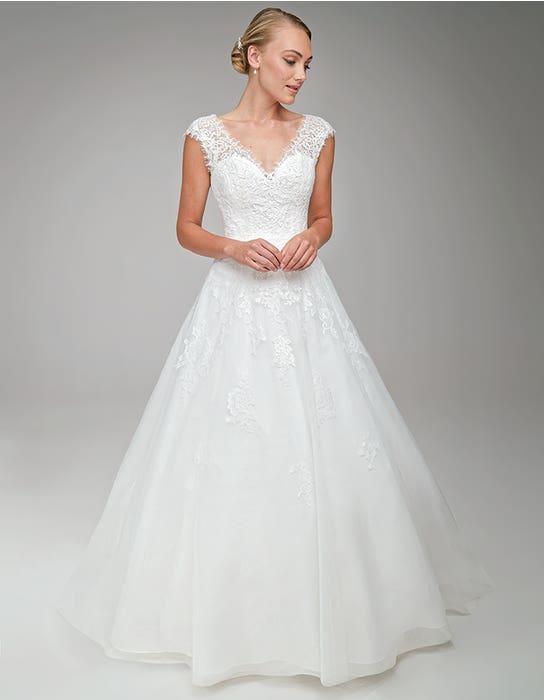 Harriet Aline wedding dress Front Anna Sorrano