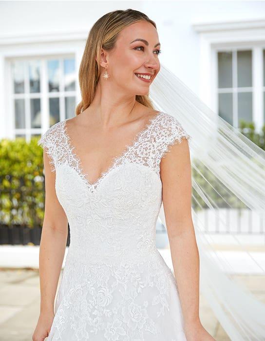 Harriet Aline wedding dress Front Anna Sorrano Edit