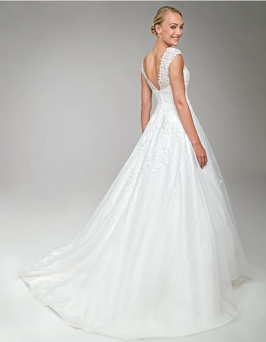 Harriet Aline wedding dress back Anna Sorrano
