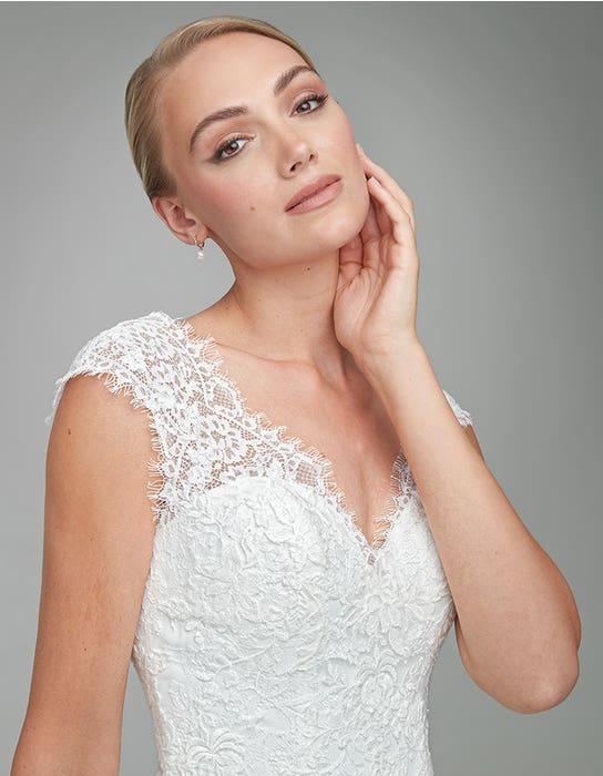 Harriet Aline wedding dress front crop Anna Sorrano