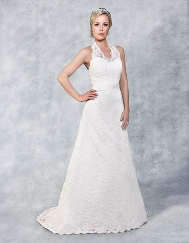 Havana aline wedding dress front Viva Bride th