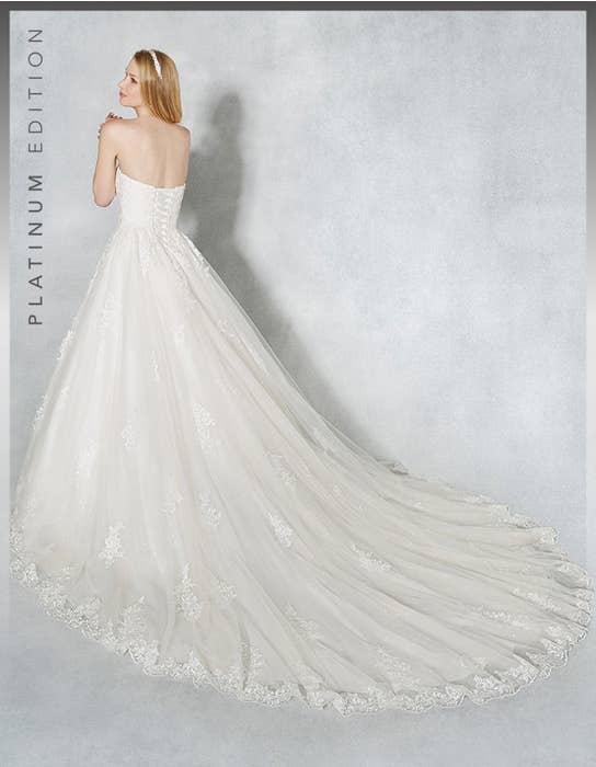 Hayley ballgown wedding dress back Viva Bride