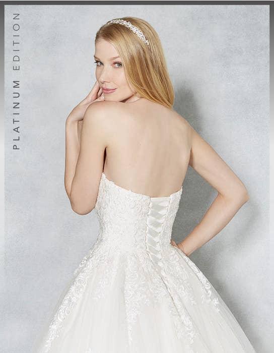 Hayley ballgown wedding dress crop back Viva Bride