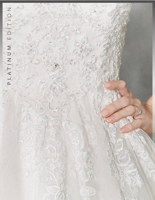 Hayley ballgown wedding dress detail Viva Bride