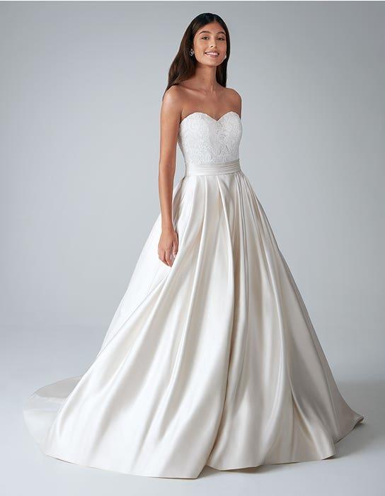 Helene ballgown wedding front Anna Sorrano