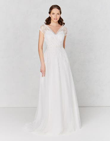 Hetty aline wedding dress front Heidi Hudson th