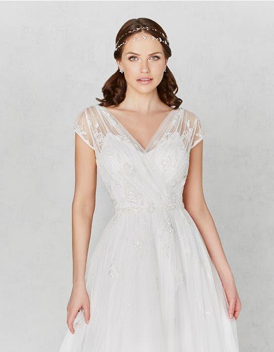 Hetty aline wedding dress front crop Heidi Hudson