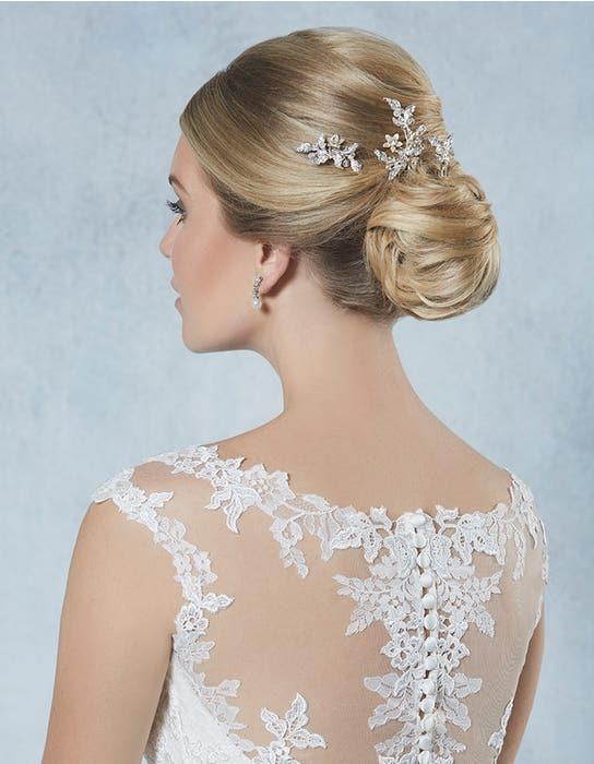 Honey bridal hair pins crop back Amixi