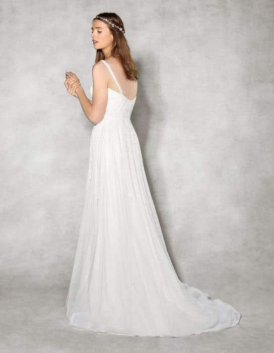 Hope aline wedding dress back Heidi Hudson