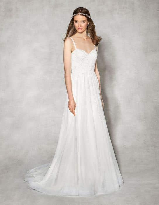 Hope aline wedding dress front Heidi Hudson