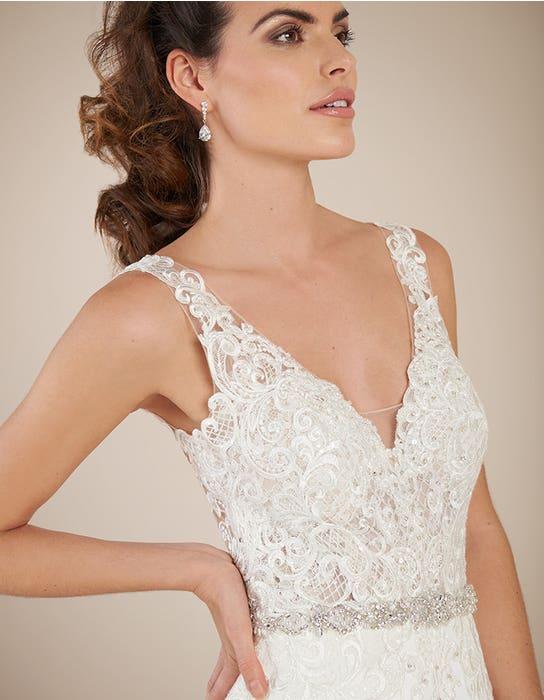 Houston sheath wedding dress crop front Signature