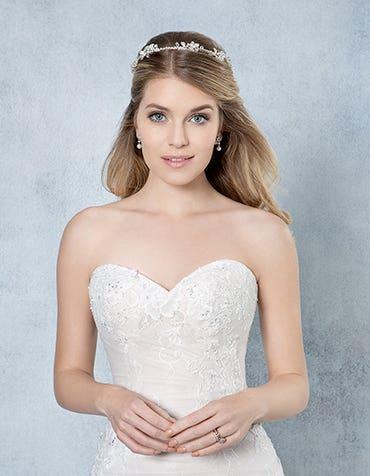 IRIS - Een fijne bruids haarband