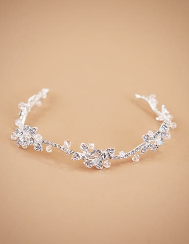 IRIS - a luxurious halo scattered with diamantes