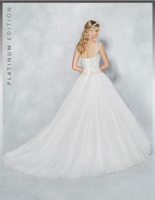 Isadora ballgown wedding dress back Viva Bride